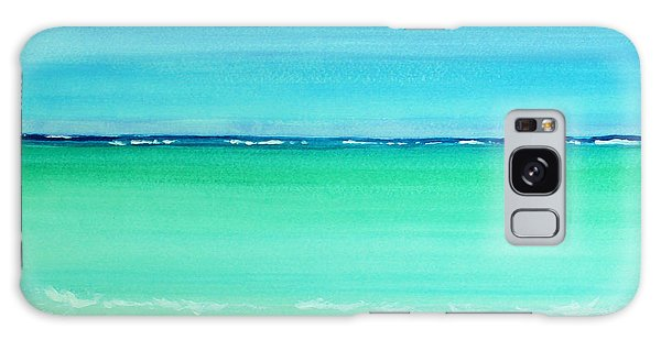 Caribbean Ocean Turquoise Waters Abstract Galaxy Case