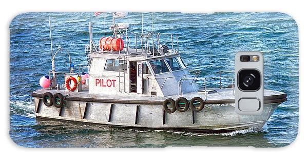 Pilot Galaxy Case - Caribbean Princess Pilot Boat by Betsy Knapp