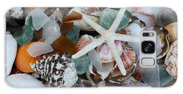 Caribbean Shells Galaxy Case by The Art of Alice Terrill