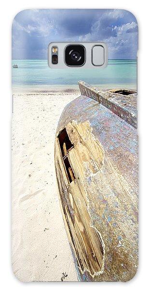 Caribbean Shipwreck Galaxy Case