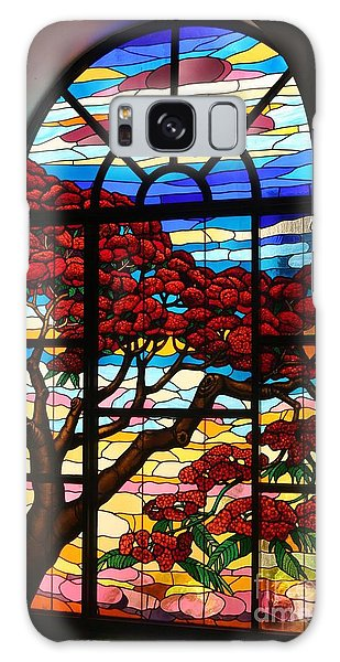 Caribbean Stained Glass  Galaxy Case