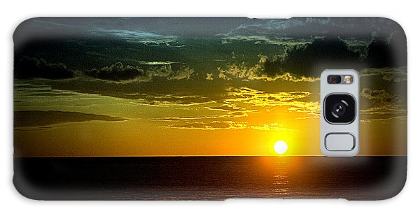 Caribbean Sunset ... Galaxy Case by Chuck Caramella