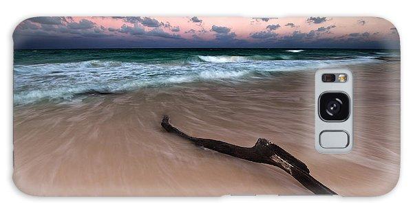 Caribbean Sunset Galaxy Case by Mihai Andritoiu