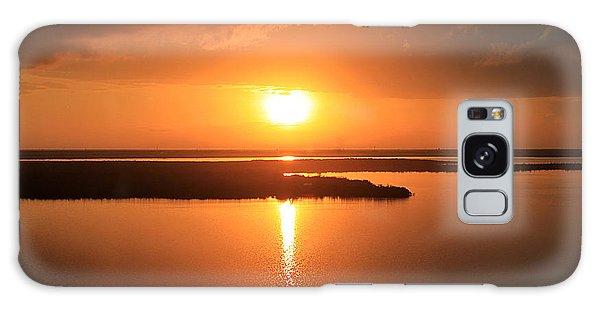 Caribbean Sunset Galaxy Case by Milena Ilieva