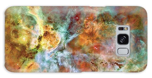 Carina Nebula - Interpretation 1 Galaxy Case by Jennifer Rondinelli Reilly - Fine Art Photography