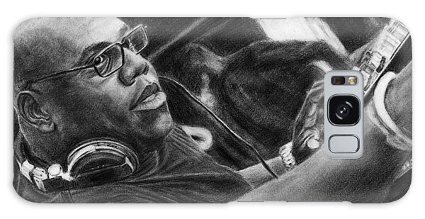 Carl Cox Pencil Drawing Galaxy Case