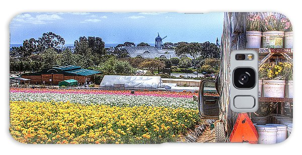 Carlsbad Flower Fields Galaxy Case