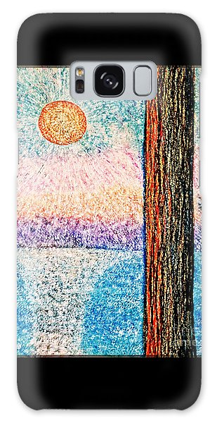 Carmel Highlands Sunset Galaxy Case