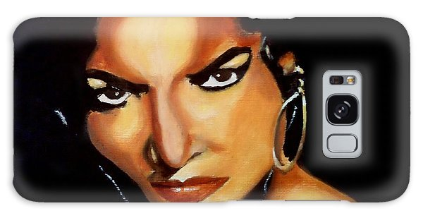 Carmen - Original Painting  Galaxy Case