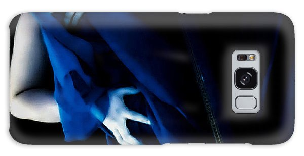 Carnal Blue Galaxy Case by Jessica Shelton
