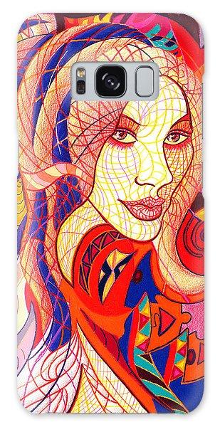 Carnival Girl Galaxy Case by Danielle R T Haney