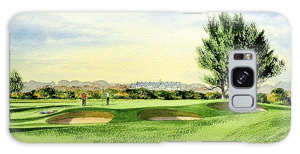 Carnoustie Golf Course 13th Green Galaxy Case