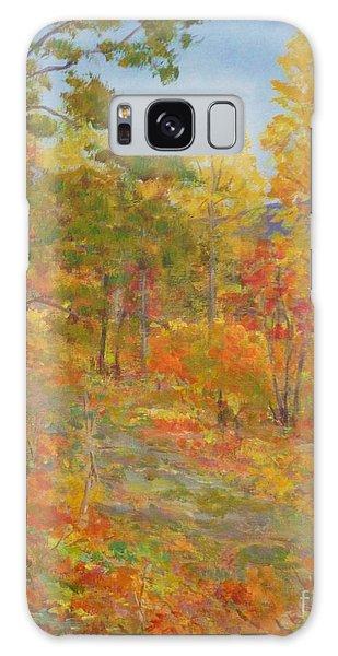 Carolina Autumn Gold Galaxy Case