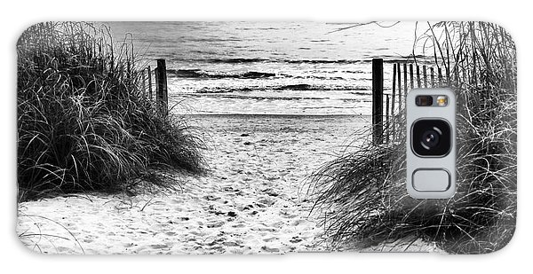Carolina Beach Entry Galaxy Case by John Rizzuto