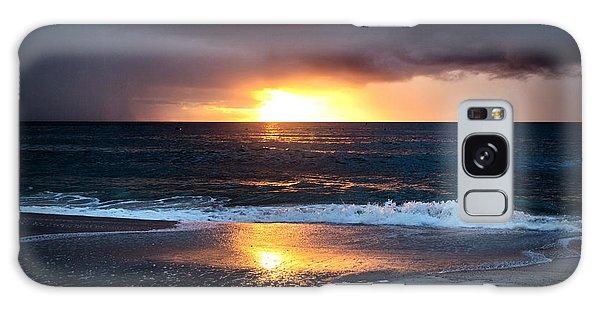Carolina Beach October Sunrise Galaxy Case
