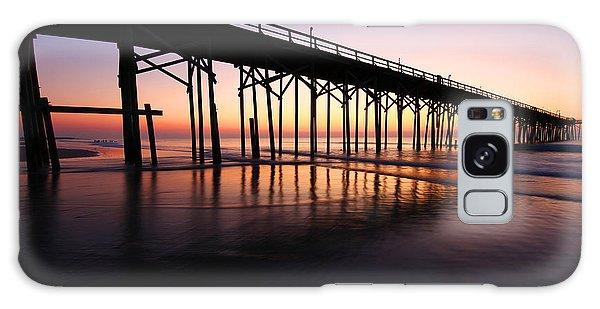 North Carolina Beach Pier - Sunrise Galaxy Case