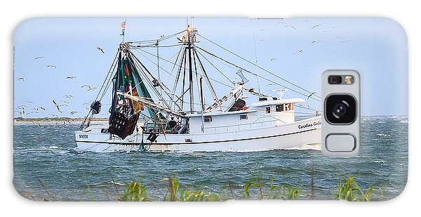Carolina Girls Shrimp Boat Galaxy Case