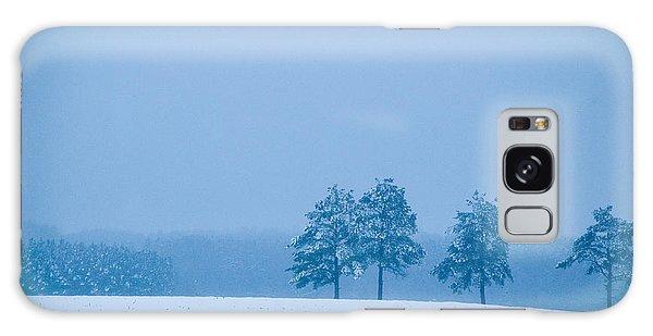 Carolina Snow Galaxy Case