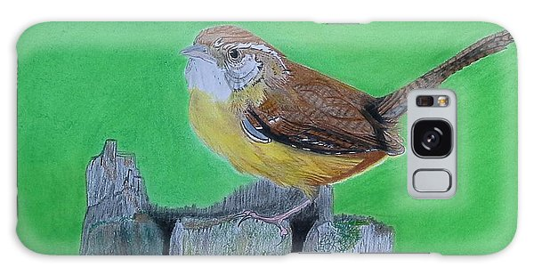 Carolina Wren Galaxy Case