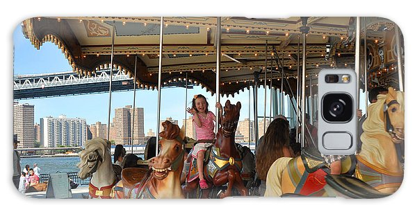 Carousel Brooklyn Bridge Park Galaxy Case