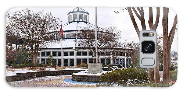Carousel Building In Snow Galaxy Case