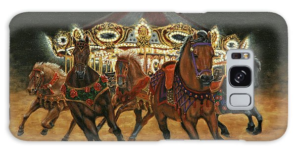 Carousel Escape At Night Galaxy Case by Jason Marsh