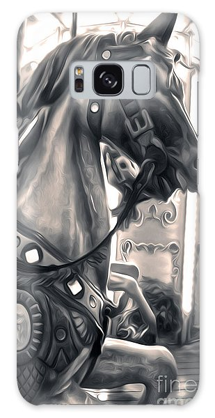 Carousel Horse Galaxy Case by Gregory Dyer