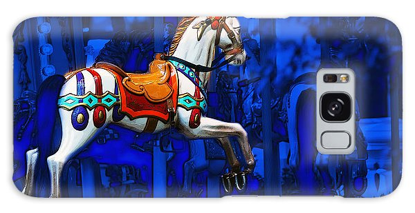 Carousel Horse Galaxy Case by Gunter Nezhoda