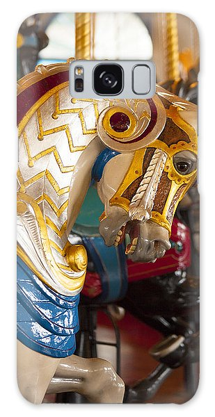 Colorful Carousel Merry-go-round Horse Galaxy Case