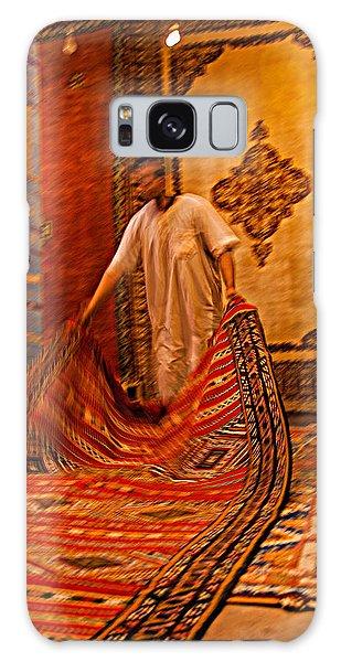 Carpet Workshop Near Ouarzazate In Morocco Galaxy Case