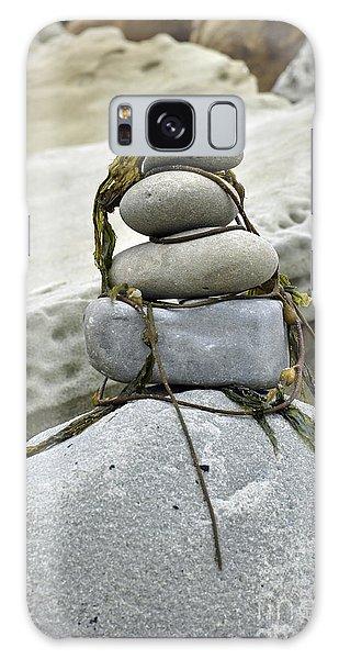 Carpinteria Stones Galaxy Case by Minnie Lippiatt