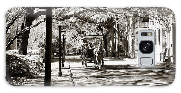 Carriage Ride In Charleston Galaxy Case