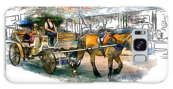 Carriage Ride Galaxy Case