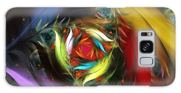 Fractal Design Galaxy Case - Carribean Nights-abstract Fractal Art by Karin Kuhlmann