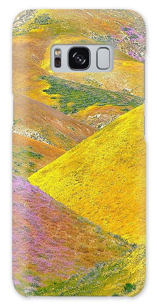 Carrizo Wildflowers Vertical Galaxy Case