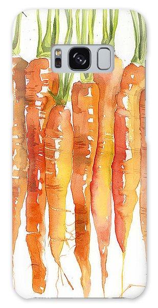 Carrot Bunch Art Blenda Studio Galaxy Case by Blenda Studio