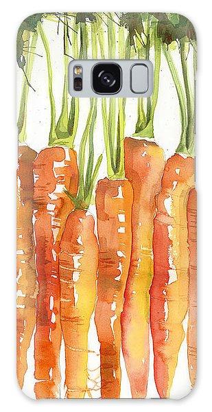 Food Galaxy Case - Carrot Bunch Art Blenda Studio by Blenda Studio