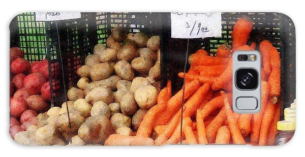Carrots Potatoes And Honey Galaxy Case by Susan Savad