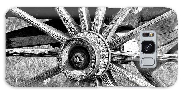 Galaxy Case featuring the photograph Cart Wheel by Mae Wertz