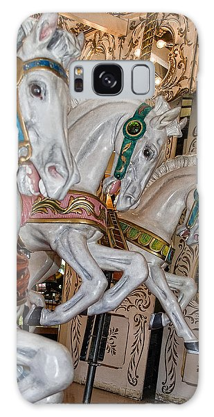 Caruosel Horses Galaxy Case