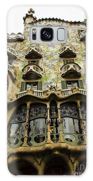 Casa Batllo Exterior Galaxy Case by Deborah Smolinske