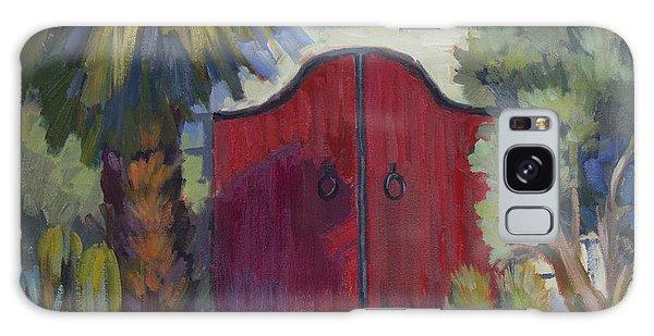 Casa Tecate Gate 2 Galaxy Case by Diane McClary