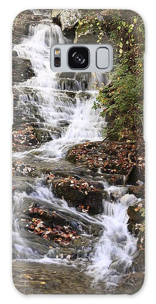 Cascade At High Falls Creek Near Mount Cheaha Alabama Galaxy Case by Mountains to the Sea Photo