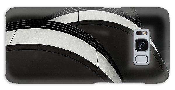 Round Galaxy Case - Cascade Balcony by Gilbert Claes