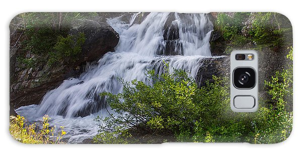 Indian Peaks Wilderness Galaxy Case - Cascade Falls - Indian Peaks Wilderness by Aaron Spong