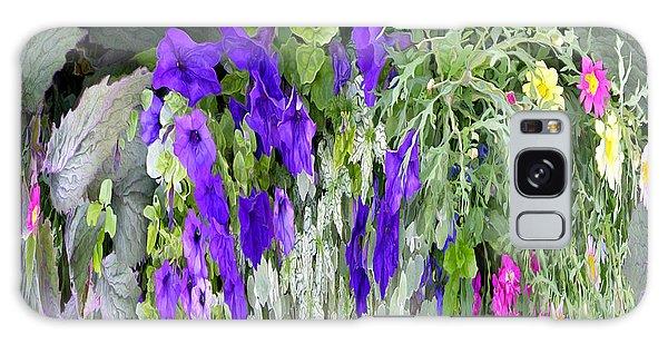 Cascade Of Flowers Galaxy Case by Mariarosa Rockefeller
