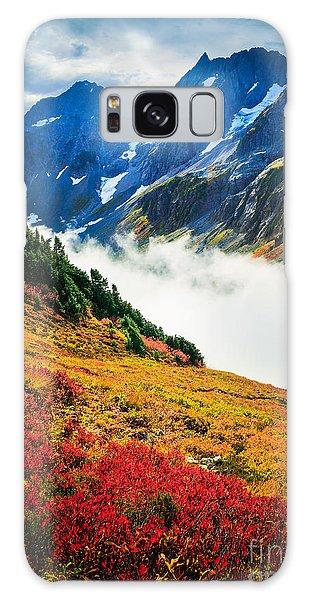 Cascade Pass Peaks Galaxy Case