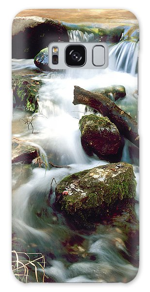 Cascades In Roman Nose State Park Galaxy Case