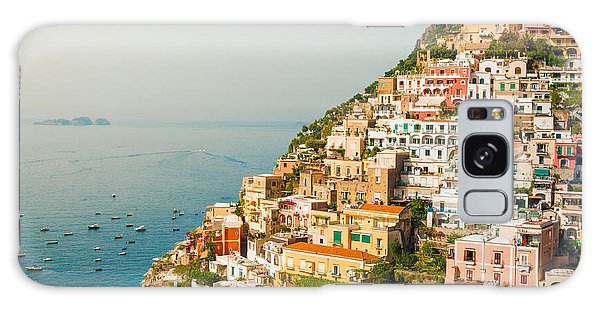 Cascades Of Positano City Galaxy Case