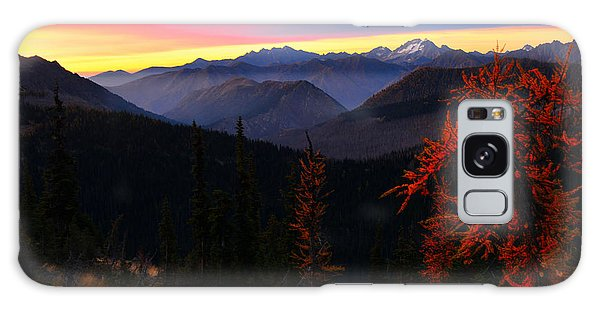 Cascades Sunrise Galaxy Case